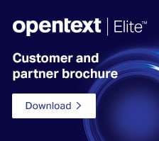 OpenText Elite Customer and partner loyalty program