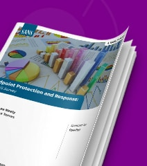 Endpoint Protection and Response: A SANS Survey asset thumbnail