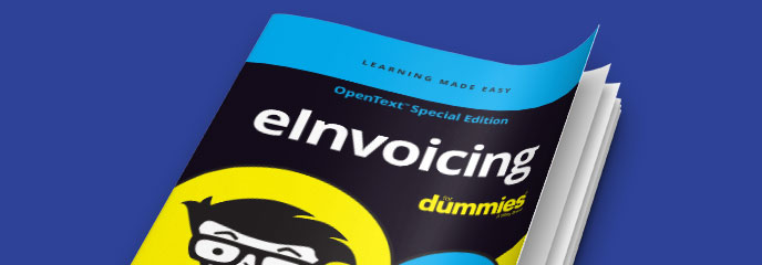 eInvoicing for dummies eBook cover image